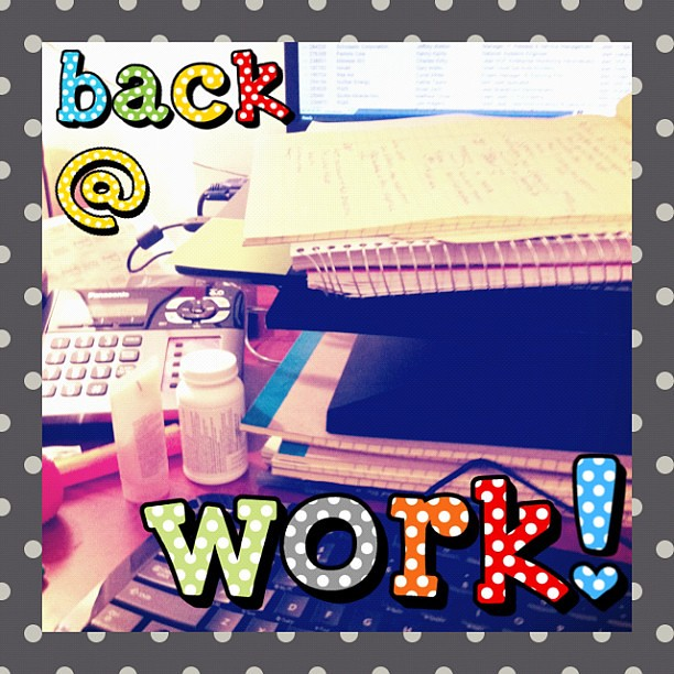 7939259052 d75f2d8805 z jpgBack To Work After Vacation