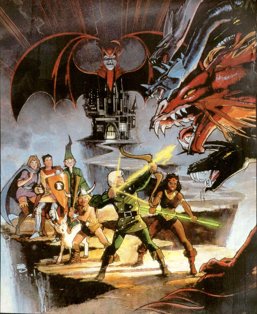 Bill Sienkiewicz - Dungeons and Dragons, 1980's