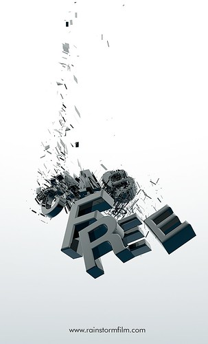 Rainstorm Film | Logo Design | 3D Animation