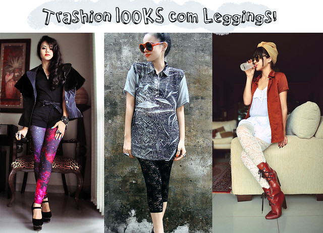 looks com leggings