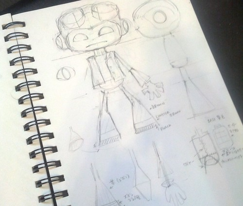 stuffed stuff: Making of Raz from Psychonauts
