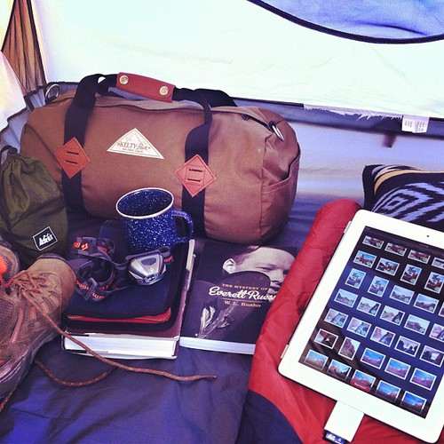 Home sweet tent.