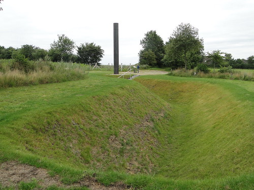 Remains of the anti-tank-trenches
