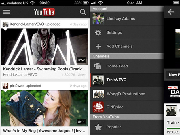 Nueva aplicación de Youtube para iPhone disponible