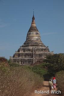 Bagan - Shwesandaw Pagoda