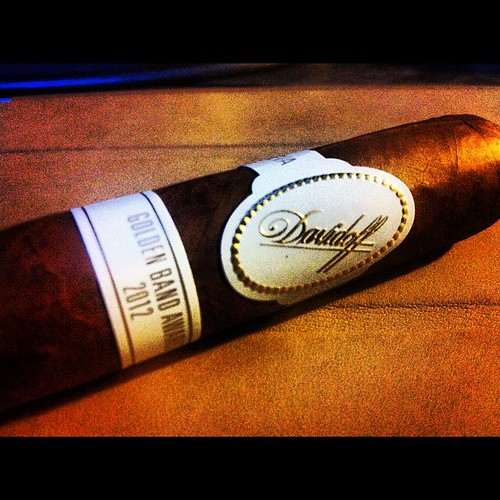Smoking a @Davidoff_Cigars Golden Band 2012 via @wcurtisdraper