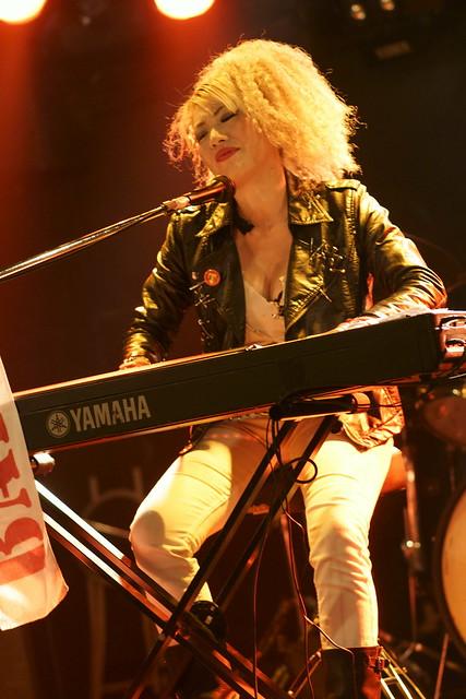BAKUBENI RAY-LA live at Outbreak, Tokyo, 11 Sep 2012. 028c