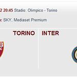 Toro-Inter 2012/13 Dom 16 sett 2012