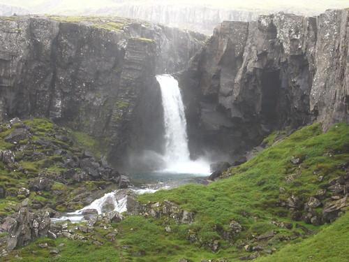 Gufufoss, seydisfjordur