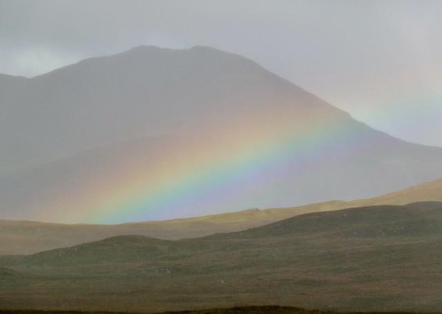 Rainbow, Rannoch Moor