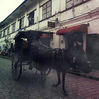Calesa ride at Vigan