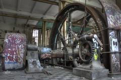 Schwungrad der Eismaschine