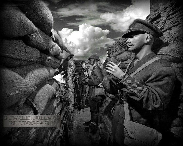 suicide in the trenches I knew a simple soldier boy who grinned at life in empty joy, slept soundly through the lonesome dark, and whistled early with the lark in winter trenches, cowed and glum.