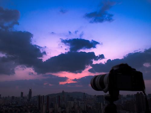 blue sunset sky 蓝天 1728 epl1
