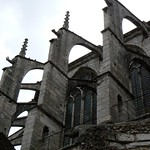 Plantagenet World 2011 Flying buttresses, St. Pierre de Chartres --