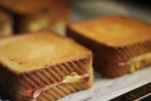 Baked Grilled Cheese