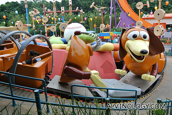 The toddler friendly Slinky Dog Spin