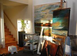 Alice Rich, Visual Artist, Vancouver BC, Gabriola island art studio