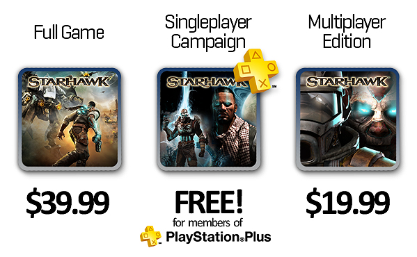 Starhawk Now on the PlayStation Store