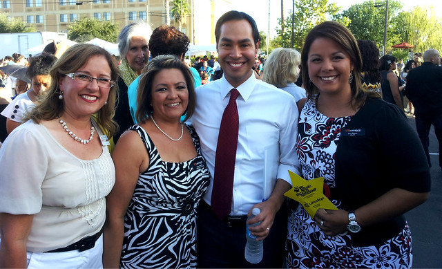 UT Austin Staff with Mayor Castro