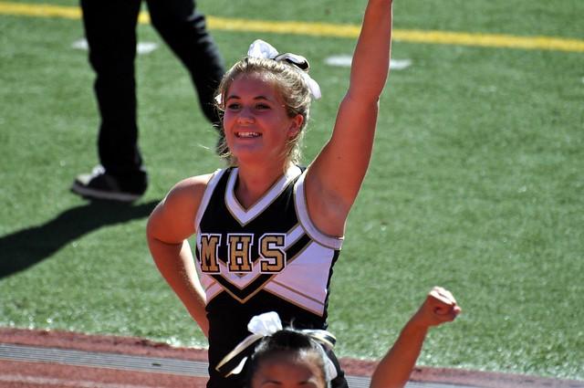 McKinley Tigers JV Cheerleaders 74