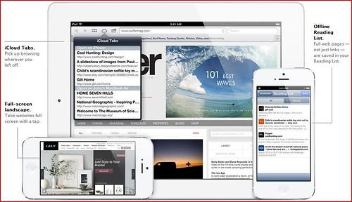 iOS6- Safari. Browsing is just the begining.