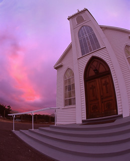Fire in the Sky from St.Theresa Church
