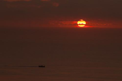 sunrise taiwan 宜蘭 晨昏 南方澳漁港 昭安觀景台