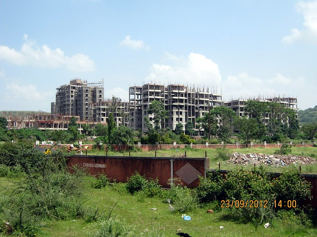Under construction site of Neo City, behind Jain College Bakori Road, Wagholi, Pune 412207
