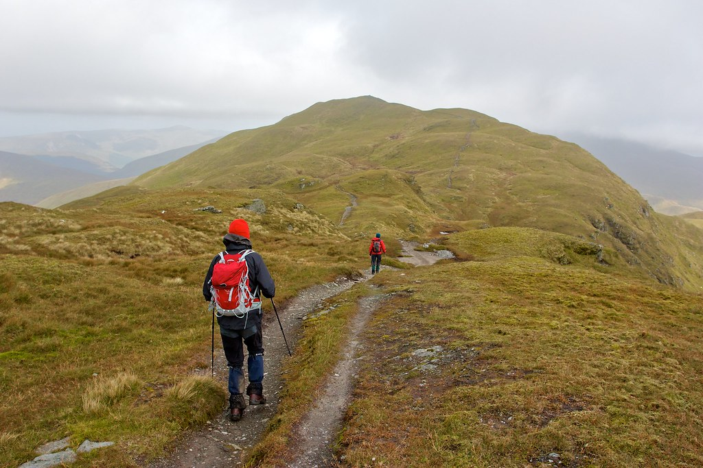 Heading towards Meall nan Tarmachan