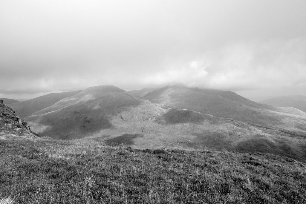 Clouds over the Ben Lawers group