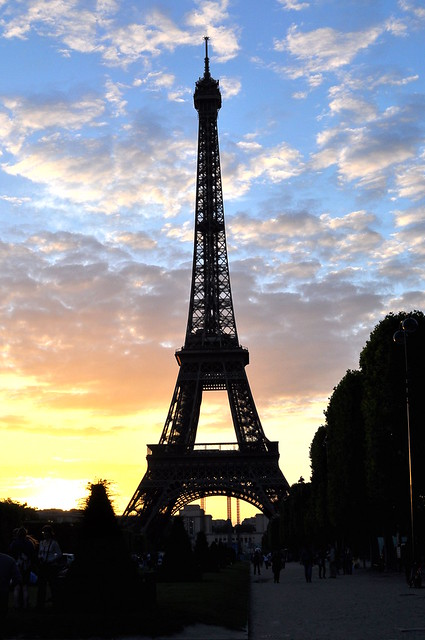 The Eiffel Tower - Sunset - Paris