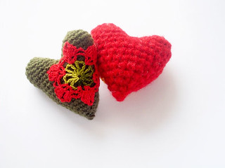 pair of two hearts