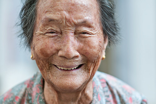 New Blog Post: Shooting Elderly Portraits for a Cause