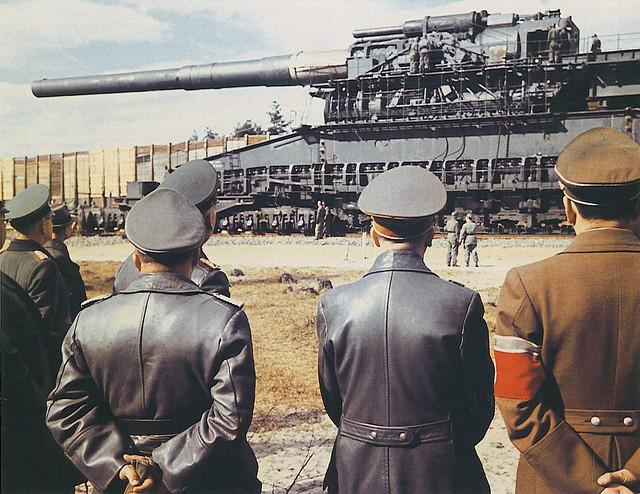 800 Mm Super Heavy Rail Gun Dora Flickr Photo Sharing