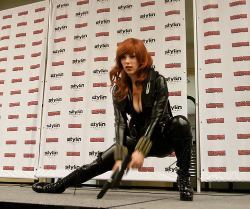 Costume Contest: Black Widow