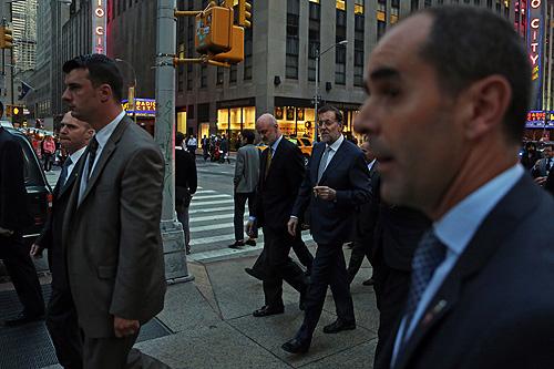 Mariano Rajoy en Nueva York