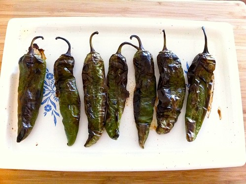 Roasted Anaheim Chiles