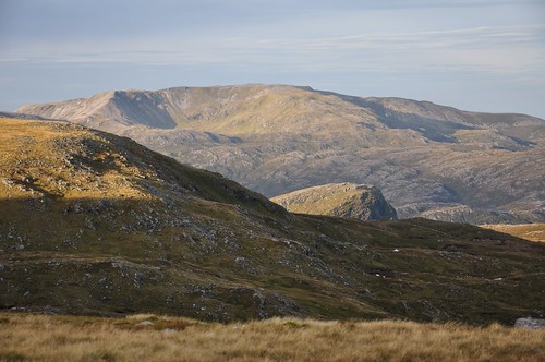 Glas Bheinn & Stack of Glencoul showing in middle distance