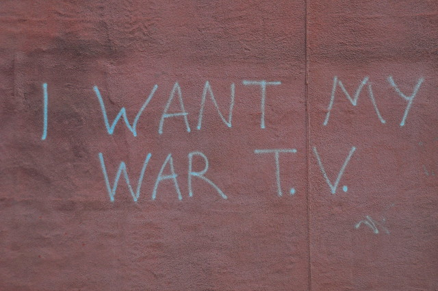 I WANT MY WAR T.V.