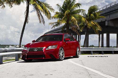 2013 Lexus GS F Sport Concavo Wheels CW-S5
