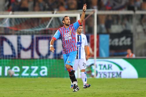 Calcio, Catania: Izco, Ricchiuti, Spolli e Paglialunga ok$