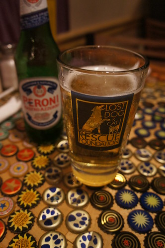Peroni's at Lost Dog