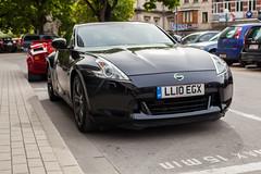 automobile(1.0), automotive exterior(1.0), wheel(1.0), vehicle(1.0), automotive design(1.0), nissan 370z(1.0), nissan(1.0), land vehicle(1.0), luxury vehicle(1.0), supercar(1.0), sports car(1.0),