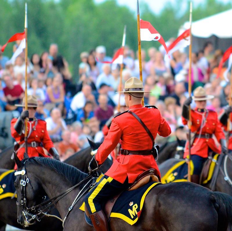 RCMP Sunset Ceremony 2012