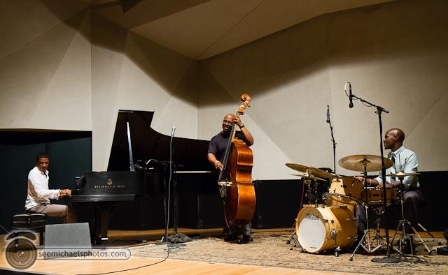 Christian Mcbride Trio at Neurosciences Institute 92412 © Michael Klayman-001