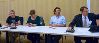 Participants à l'atelier Souveraineté nationale et trans-frontalité d'internet d'OVEI2