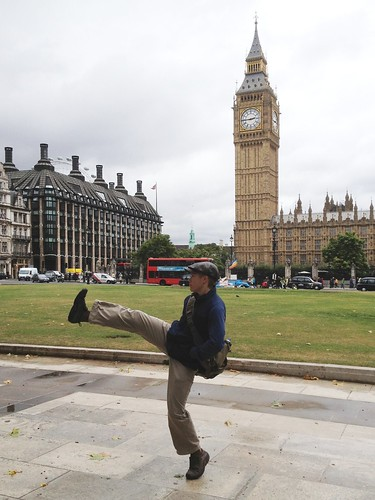 Silly Walking Through London