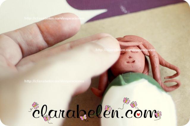Cómo hacer muñecas de arcilla con niños para regalos en comuniones y bodas
