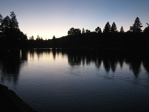 Sunset along the Deschutes River - Bend